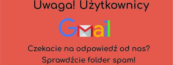 Do użytkowników gmail